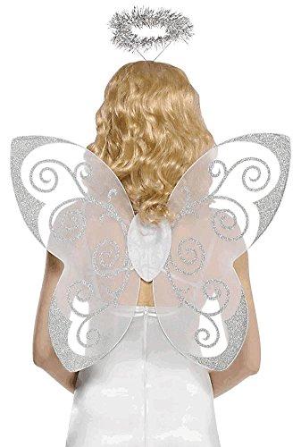 Amscan 840021 Adult Angel Accessory Kit, Black