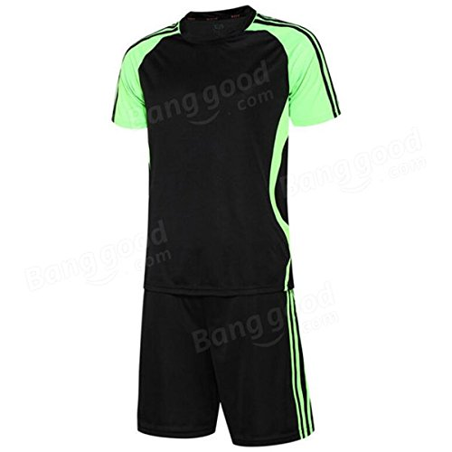 Bazaar Manches courtes football costume nuit adultes hommes formation réflexion costumes hommes maillot