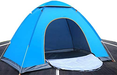 Outdoor Travel Tent Familie Camping Tent, Ultra Lig Outdoor wandelen Camping tent Anti-ultraviolet Ultra-light Folding Tent