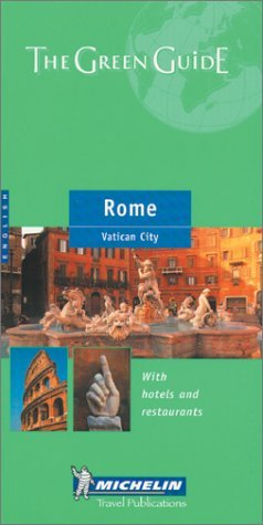 Michelin the Green Guide Rome (Michelin Green Guides) by Michelin Travel Publications (2002-11-02) pdf
