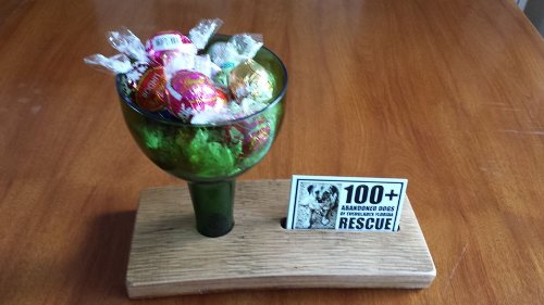 Marvelous Business Card Candy Dish Holder