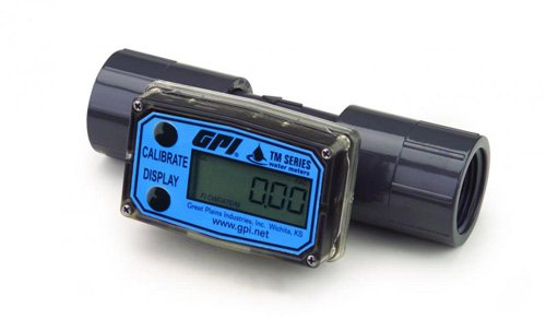 GPI TM100-N-P TM Series Water Meter, NPT (Female), Pulse Output, 1""