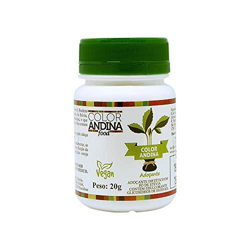 Adoçante dietético Stévia Color Andina Food, 1 pote, 20g