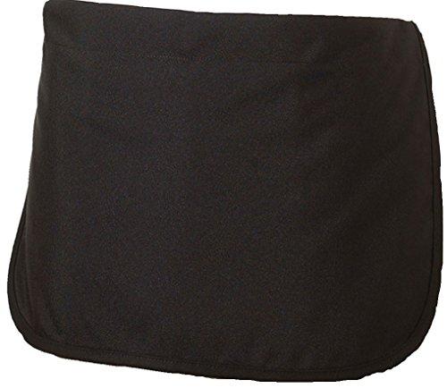 - Edwards Garment Adjustable Elastic Waist Dealer Apron, BLACK, 0