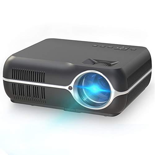 WAYPGC Mini Projector Portable, 4500 Lumens, Home 4K HD 1080P, Android System Bluetooth Wireless WiFi, Compatible with AV/HD/USB/Audio/VGA/TV/LAN,Black1G+8G from WAYPGC