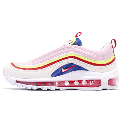 NIKE Women's Air Max 97 Special Edition Shoes Sail/Artic Pink-Volt Glow, 7.5