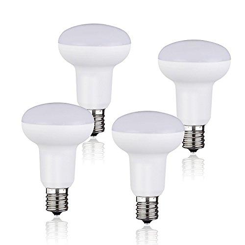 CTKcom 5W LED BR30 Flood Light Bulbs(4 Pack)- E14 Base LED Reflector Light Bulbs 60W Equivalent Indoor/Outdoor Lighting Super Bright 6500K Daylight White 120° Beam Angle UL-listed Flood Lighting Bulbs
