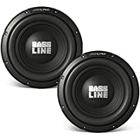 Alpine SWA-12S4 12 Subwoofer Bundle