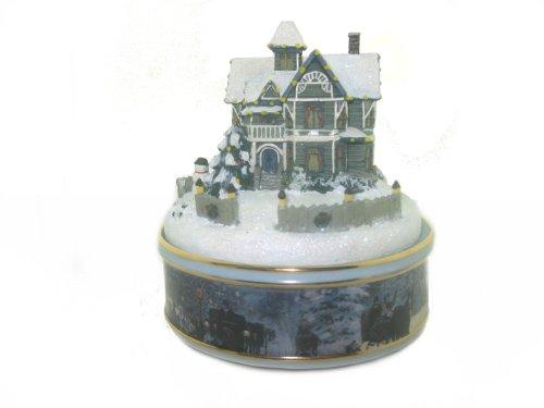 Victorian Christmas Music Box - Thomas Kinkade