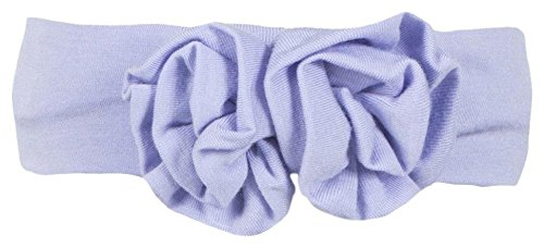 Kickee Pants Baby Girls Solid Flower Headband Prd Kpfhb774 Lcfmn  Lilac With Forget Me Not  One Size