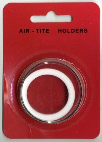 (1) Air-tite Y-50mm White Ring Coin Holder Capsules for 2