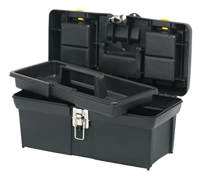 "Stanley 016013R 16"" Series 2000 Tool Box with Tray from Stanley"