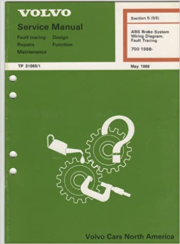 Volvo Service Manual ABS Brake System, Wiring Diagram, Fault Tracing 700  TP31085/1: Volvo: Amazon.com: Books | Volvo Amazon Wiring Diagram |  | Amazon.com