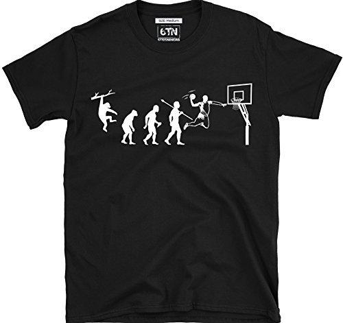 6TN Evolución de Baloncesto Camiseta CJz4nFrbtc