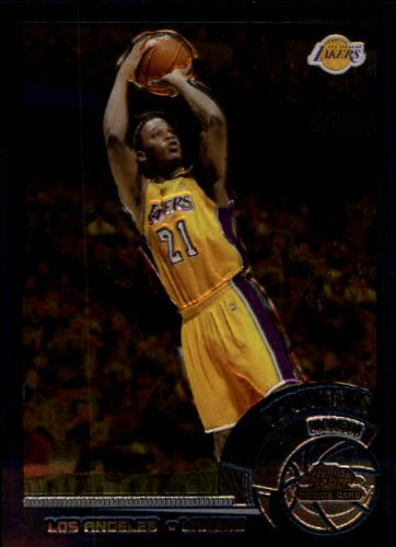 2002 Topps Chrome Basketball Rookie Card (2002-03) #155 Kareem Rush (03 Topps Chrome Rookie Basketball)