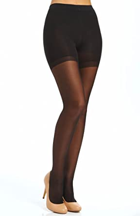 a2b6285e Image Unavailable. Image not available for. Color: Wolford Synergy 20 Push- up Panty Tights ...