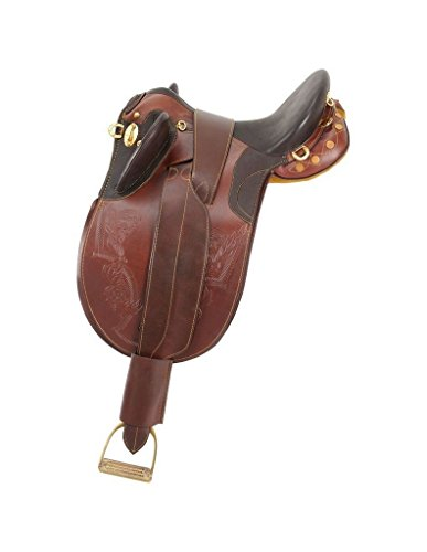 Australian Saddles And Tack - Australian Outrider Collection Stock Poly Saddle without Horn