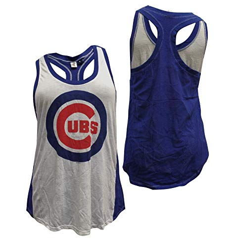 G-III Sports Chicago Cubs Women's Double Play Tank Top X-Large