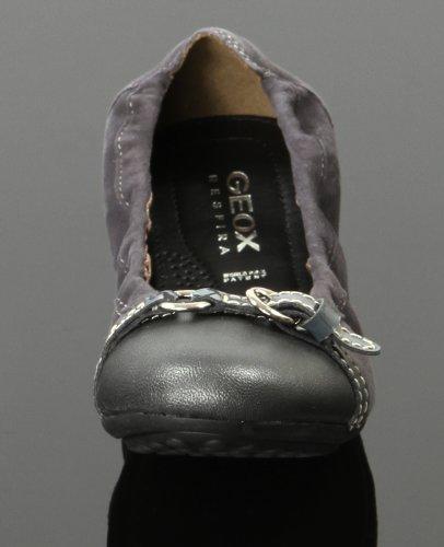 Geox D Ada–Zapatos bajos para mujer gris