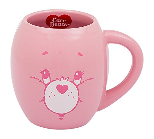 Bears Mug Care - Vandor Care Bears Cheer Bear 18 Ounce Oval Ceramic Mug (29061)