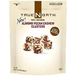 True North 100% Almond Pecan Cashew Cluster 24 oz (Pack of 2)