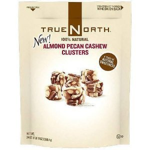 True North 100% Almond Pecan Cashew Cluster 24 oz (Pack of 2)