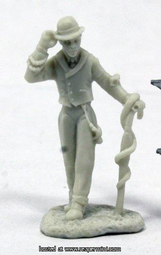 Reaper Miniatures Deadlands Noir: Houngan #91010 Bones RPG Miniature Figure