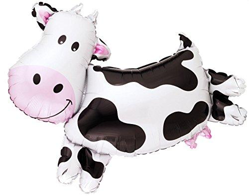 International Costume Party Ideas (Anagram Cow Shape Mylar Foil Balloon, 30