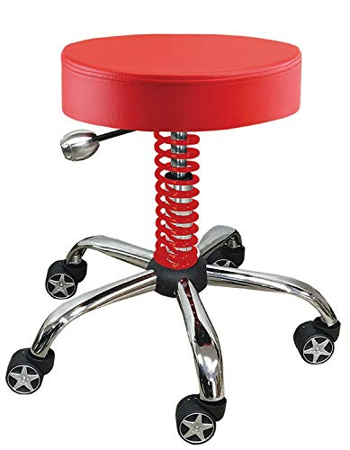 (Pitstop RGS3500R Red Rolling Garage Stool)