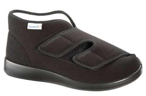 ° Varomed Bleu 37 Velours Genurar Ii 60925 46 Schwarz Slipper Article N Winter Taille 60 Velcro gHqxdwawX