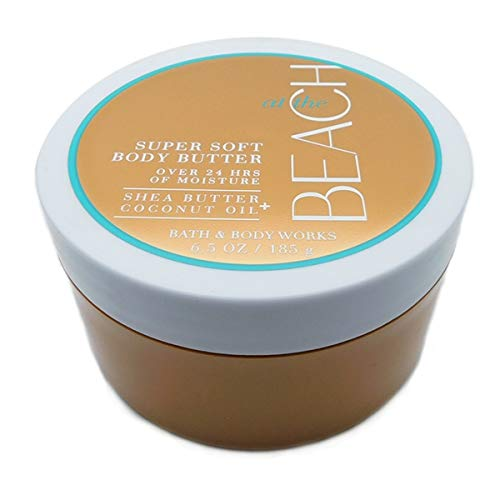 (Bath and Body Works at the Beach Body Butter super soft shea butter coconut oil 6.5 oz)