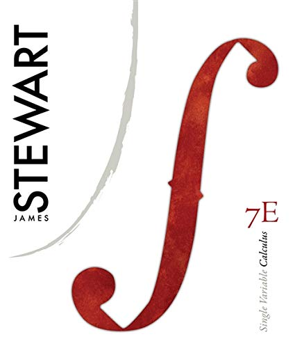 Student Solutions Manual (Chapters 1-11) for Stewart's Single Variable Calculus, 7th