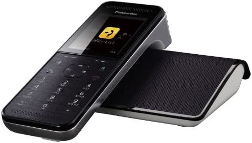 Panasonic KX-PRW120 - Teléfono fijo digital (contestador, inalámbrico, pantalla TFT de 2.2