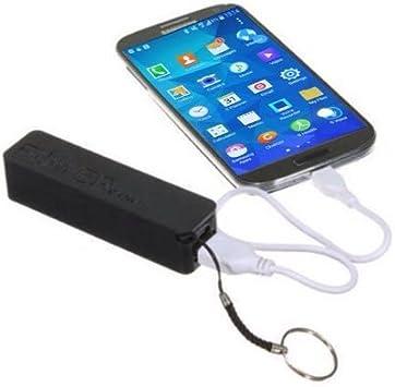 MOFRED negro Mini 2600 mAh USB teléfono móvil/Smartphone batería ...