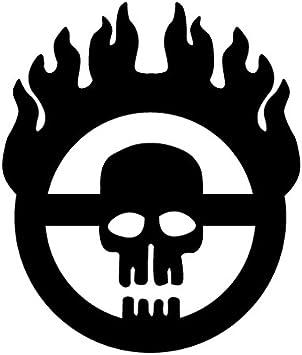 "ROAD WARRIOR 4/"" x 3/"" Die-Cut Vinyl Decal sticker Fallout Mad Max Vault Boy Gamer"