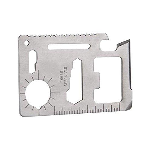 Aluminum Alloy Bullet Shape Outdoor First Aid Small Gallipot Keychain Blue - 1