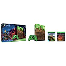Consola XBox S, 1TB, con Juego Minecraft Edición Limitada - Xbox One Bundle Limited Edition
