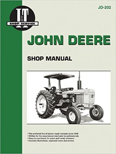 John Deere Shop Manual Jd-202 Models: 2510, 2520, 2040, 2240 ...