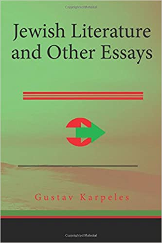 Descargar desde google books Jewish Literature and Other Essays 1508756767 (Literatura española) ePub by Gustav Karpeles