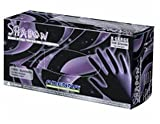 Adenna SHD939 Shadow Nitrile PF Exam Gloves, XX-Large, 90 Count (Pack of 10)