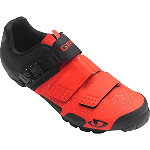 Giro Code VR70 Shoes Vermillion/Black, 45.5 - Men's