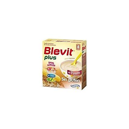 Blevit - Papilla Sin Gluten Blevit Plus 600gr 4m+: Amazon.es: Bebé