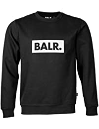 BALR. Brand Men's Club Sweater Black & Grey