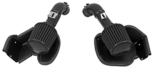 K&N Performance Air Intake Kit 71-7078 with Black Dry Filter for Infiniti G37, Nissan 370Z 3.7L V6 - Infiniti G37 Intake