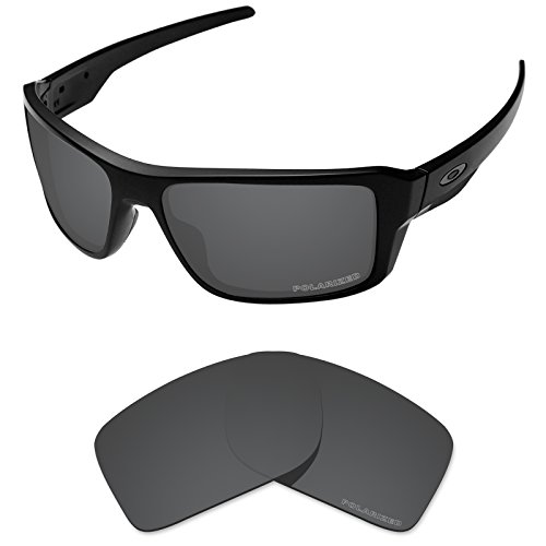 (Tintart Performance Lenses Compatible with Oakley Double Edge Polarized Etched-Carbon Black)