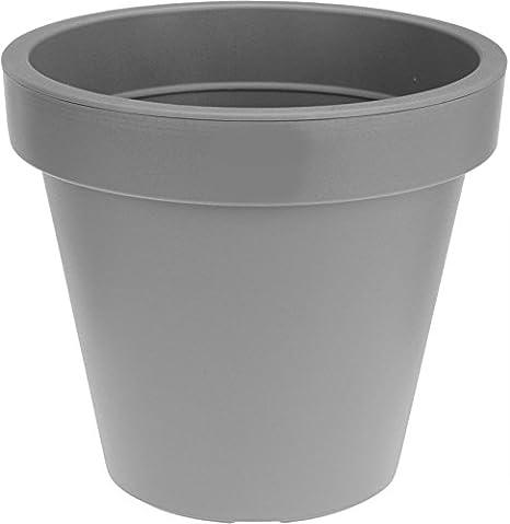 Jardiniere Xxl O 58 Cm En Plastique Bac A Fleurs Pot