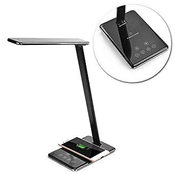 Lámpara de escritorio de mesa LED Luz de lectura en el hogar QI ...