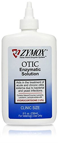 Zymox Otic with Hydrocortisone 8 oz