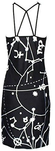 Lukis Damen Neckholder Tops Sommerkleid Kurz Cocktailkleid Mini
