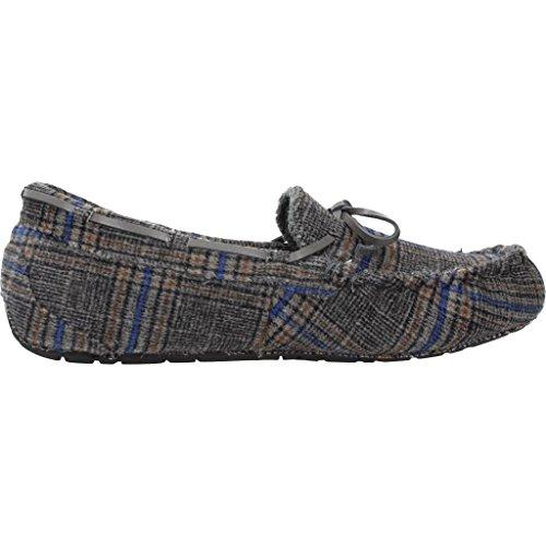 Zapatillas hogar Hombre RUBY BROWN WATSON Color Gris
